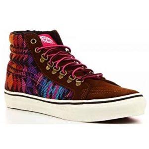 Vans Off the Wall Sk8 Slim Inca Hi Top Sneakers